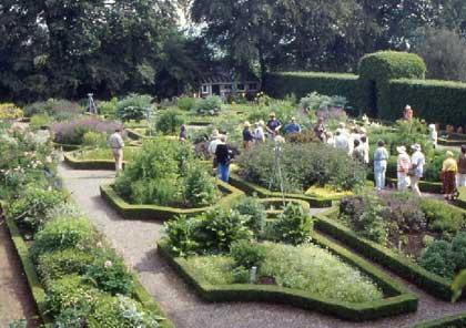 a formal herb garden - Herb Garden Design