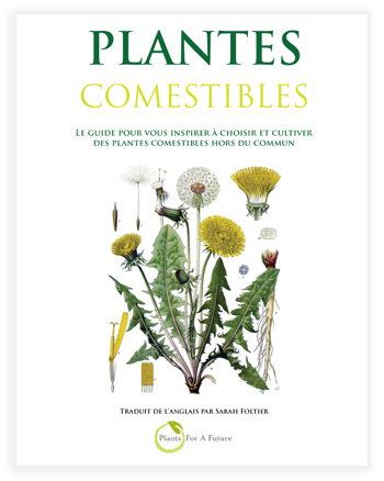 Edible Plants Book in French